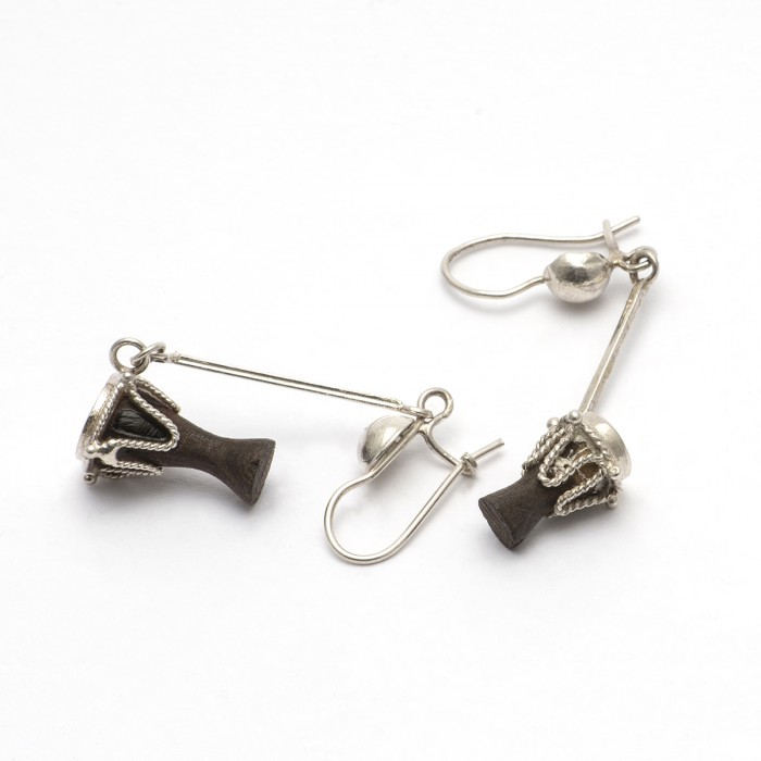 Djembe Earrings