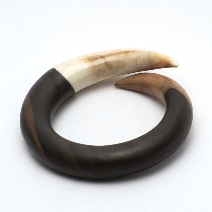 Ebony & Bone bangle