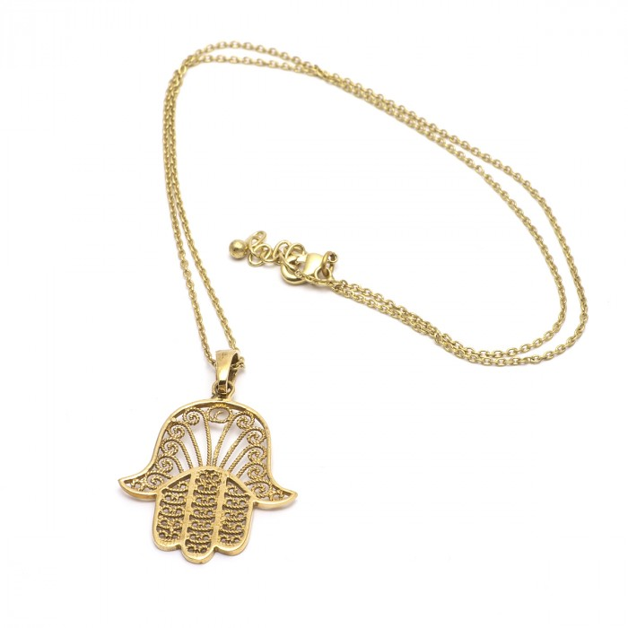 Hamsa Pendant & necklace sold out