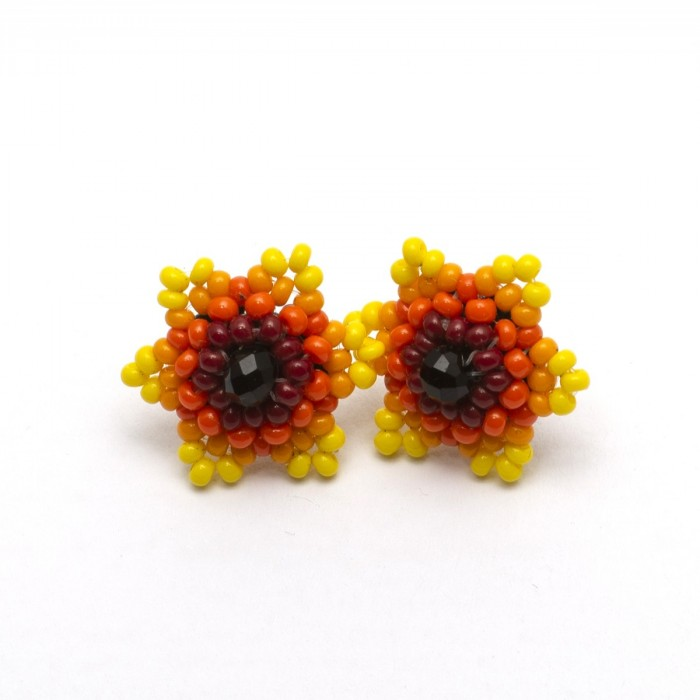 Mexican Beaded Earrings
