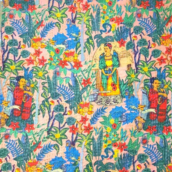 Frida Kahlo Throw Bedspread