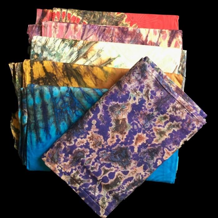 Batik cotton damask table cloths