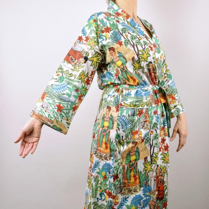 Frida's Garden Kimono WHITE SOLD OUT