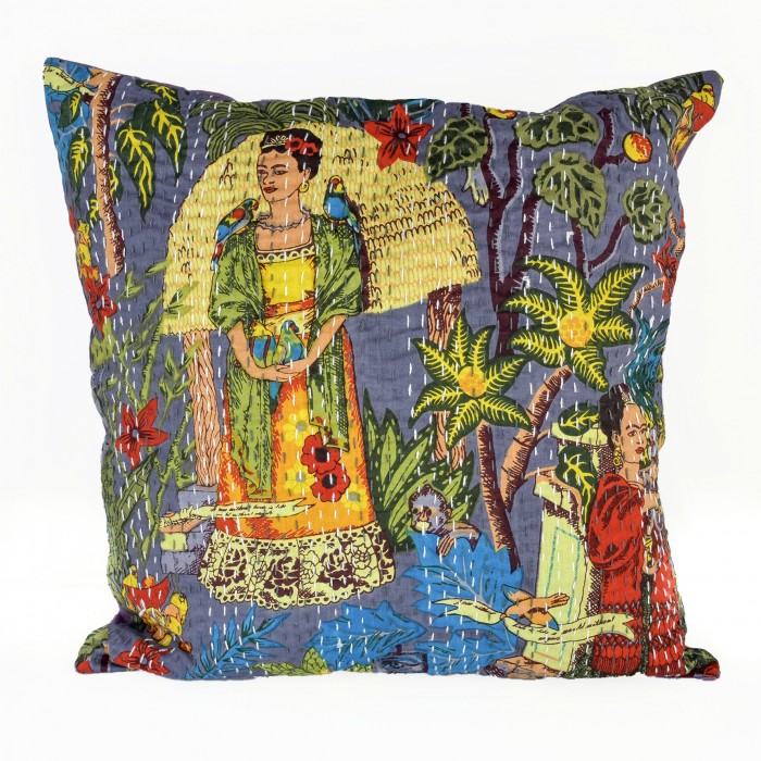 Frida's Garden cushion cover - Stone