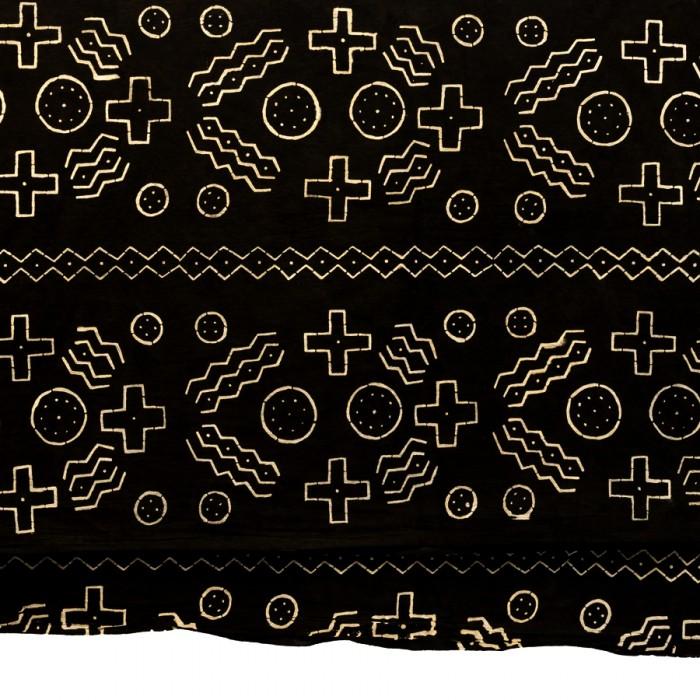 Black & White Bogolon mud cloth