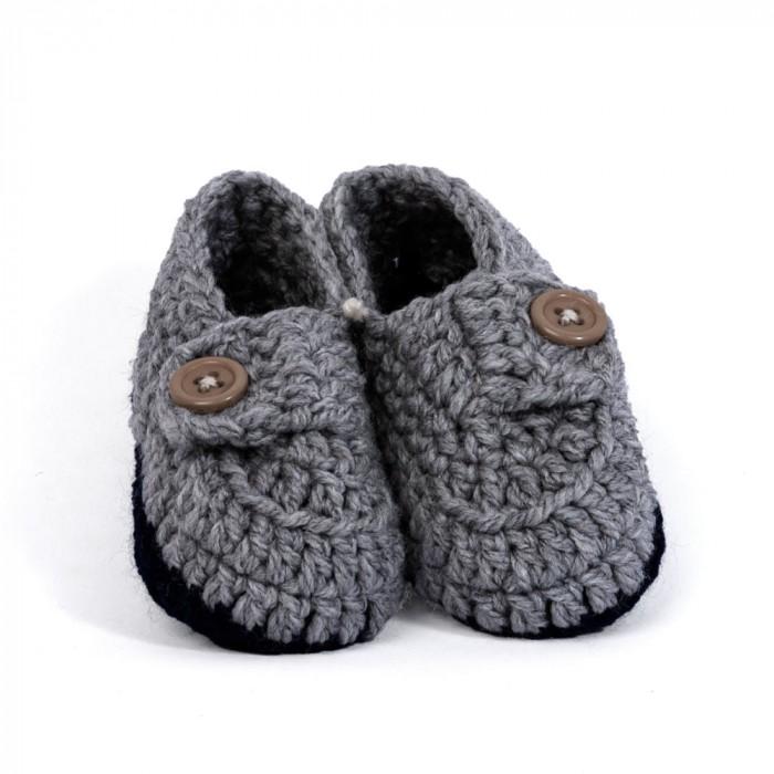 Woollen booties