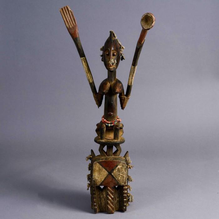 Satomat Statue. Ivory Coast
