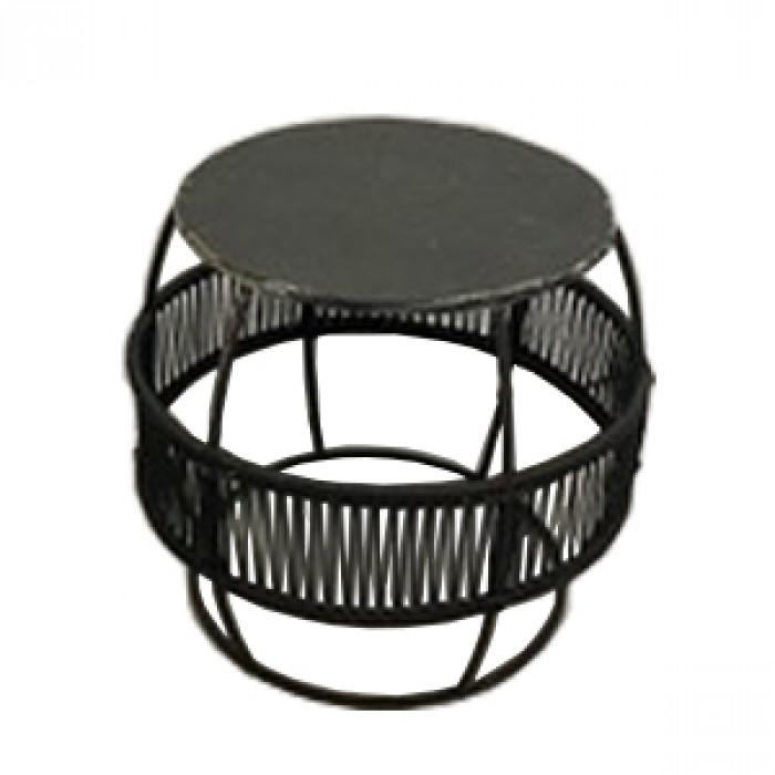 Round iron stool