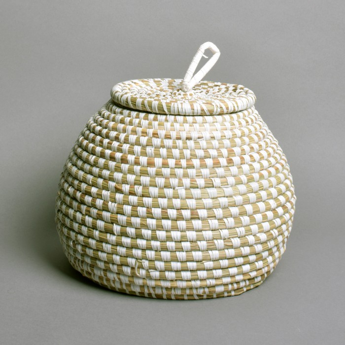 small flat lid pot
