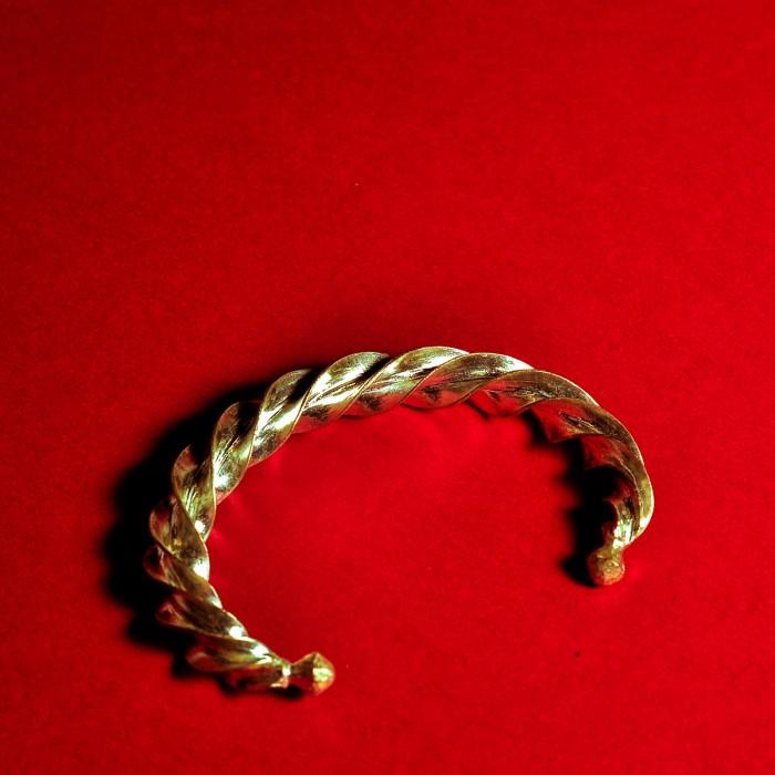 Brass Twist Bracelet